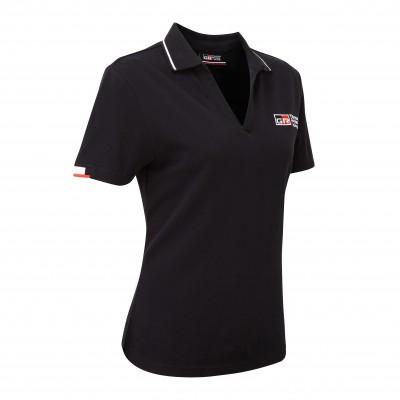 Polo noir pour femme TGR 18