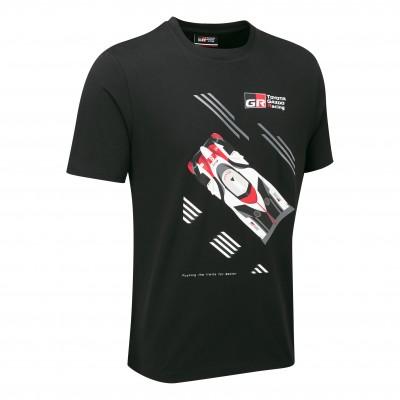 T-shirt avec voiture WEC 18 pour homme