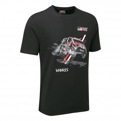 T-shirt avec voiture WRC 18 pour homme