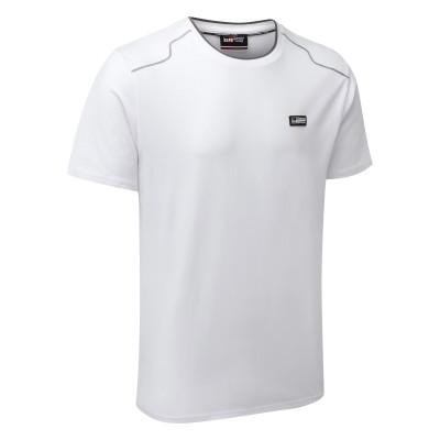 T-shirt blanc classique TOYOTA GAZOO Racing Lifestyle pour homme