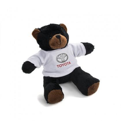 Ours en peluche doux avec T-shirt Toyota