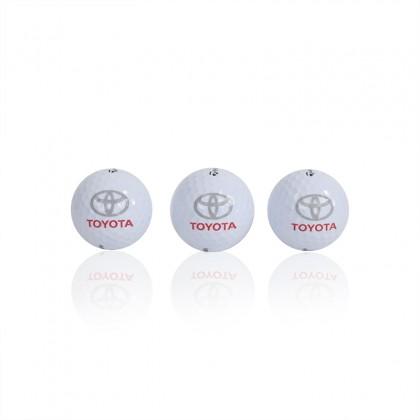 Ensemble de 3 balles de golf