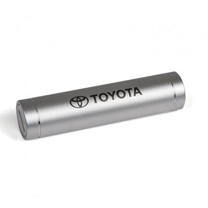 Batterie portable 2200 mAh, argentée