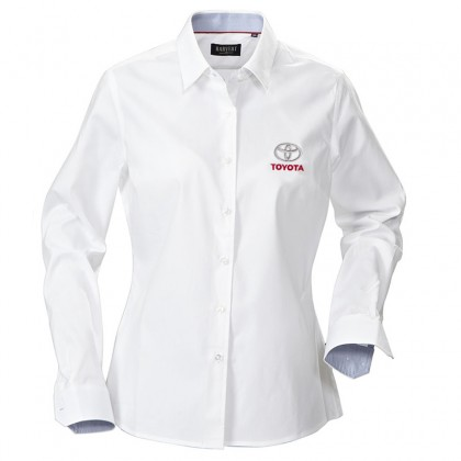 Chemise blanche Toyota pour femme
