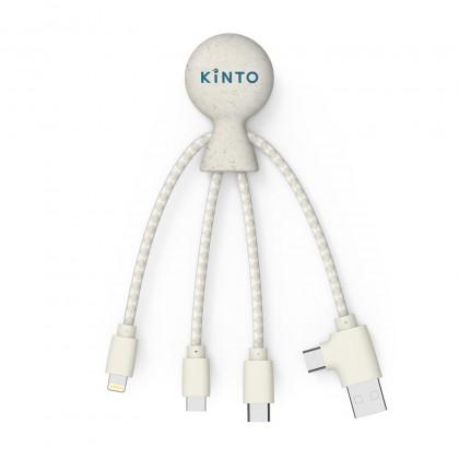 Câble de recharge Kinto paille de blé