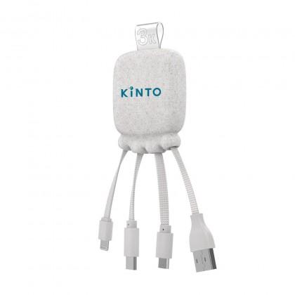 Batterie de secours / câble Kinto paille de blé