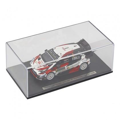 WRC échelle 1/43ème, voiture miniature de collection n ° 8 édition limitée
