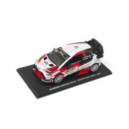 Modèle réduit de la voiture TOYOTA GAZOO WRC
