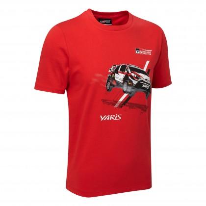 T-shirt avec voiture WRC 18 pour enfants