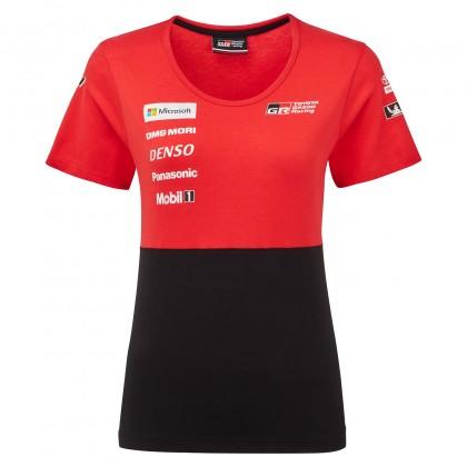 T-shirt de l'équipe TOYOTA GAZOO Racing pour femme