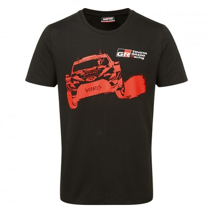 T-shirt TOYOTA GAZOO Racing Car