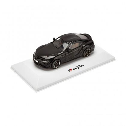 Voiture miniature Supra en noire metallique 1:43