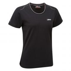 T-shirt noir classique TOYOTA GAZOO Racing Lifestyle pour femme
